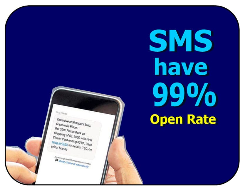 sms open rate